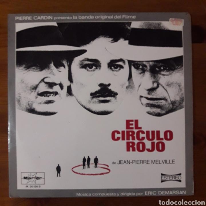 CÍRCULO ROJO (LE CERCLE ROUGE) ERIC DEMARSAN (Música - Discos - LP Vinilo - Bandas Sonoras y Música de Actores )