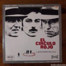 Discos de vinilo: CÍRCULO ROJO (LE CERCLE ROUGE) ERIC DEMARSAN. Lote 194774646