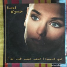 Discos de vinilo: SINEAD O'CONNOR - I DO NOT WANT WHAT I HAVEN'T GOT - LP ENSIGN SPAIN 1990. Lote 194774652