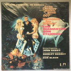 Discos de vinilo: JOHN BARRY – DIAMONDS ARE FOREVER (ORIGINAL MOTION PICTURE SOUNDTRACK). Lote 194775442