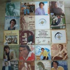 Discos de vinilo: LOTE DE 40 SINGLES DE JOSE LUIS PERALES . Lote 194775688