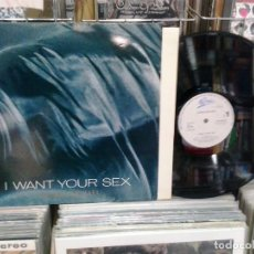 Discos de vinilo: LMV - GEORGE MICHAEL. I WANT YOUR SEX. EPIC 1987, REF. EPC 650783 6 . Lote 194776007