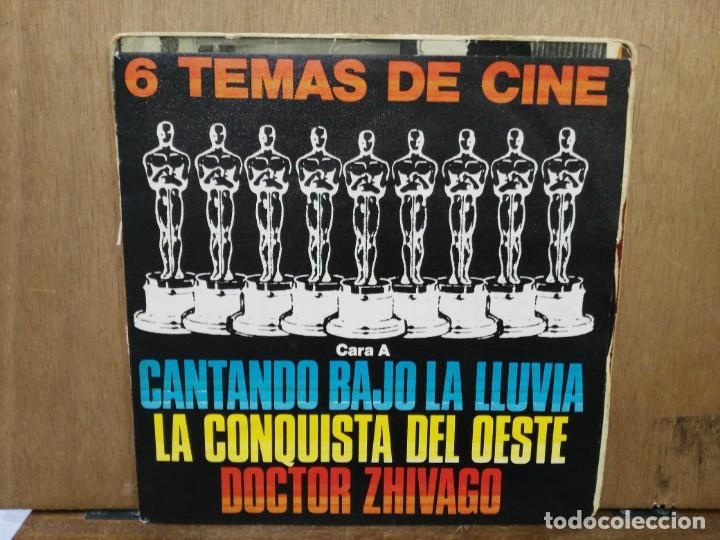 6 TEMAS DE CINE - DOCTOR ZHIVAGO, CANTANDO BAJO LA LLUVIA, NACIDA LIBRE... - EP. SELLO POLYDOR 1980 (Música - Discos de Vinilo - EPs - Bandas Sonoras y Actores)