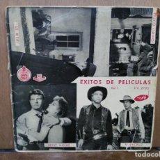 Discos de vinilo: ÉXITOS DE PELÍCULAS VOL. 1 - LE RIFIFI, ME TOCA PAGAR, VERACRUZ... - EP. DEL SELLO HISPAVOX . Lote 194776942