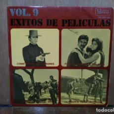 Discos de vinilo: ÉXITOS DE PELÍCULAS VOL. 9 - COMETIERON DOS ERRORES, POR UN PUÑADO DE DÓLARES... - EP. UNITES ARTIST. Lote 194777231