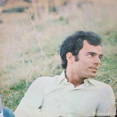 Discos de vinilo: JULIO IGLESIAS - CARPETA ABIERTA - EDICIÓN ESPAÑOLA 1972. Lote 194777500