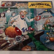 Discos de vinilo: HELLOWEEN -DR. STEIN- (1988) MAXI-SINGLE. Lote 194777585