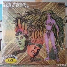 Discos de vinilo: ** LOS INDIOS TABAJARAS - LOS ÉXITOS - DOBLE LP 1972 - DOBLE PORTADA - LEER DESCRIPCIÓN. Lote 194778553