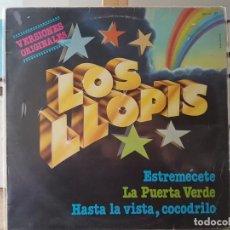 Discos de vinilo: ** LOS LLOPIS - VERSIONES ORIGINALES - LP 1981 - LEER DESCRIPCIÓN. Lote 194778907