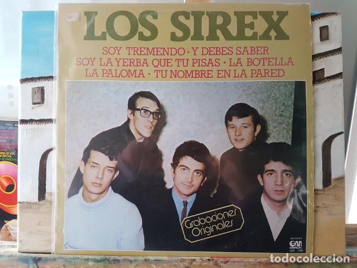 ** LOS SIREX - GRABACIONES ORIGINALES - LP 1978 - LEER DESCRIPCIÓN (Música - Discos - LP Vinilo - Grupos Españoles 50 y 60)