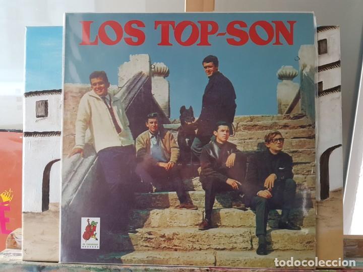 ** LOS TOP-SON - HISTORIA MÚSICA POP ESPAÑOLA - LP 1996 - DISCOGRAFÍA COMPLETA - LEER DESCRIPCIÓN (Música - Discos - LP Vinilo - Grupos Españoles 50 y 60)