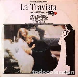 LA TRAVIATA-VERDI-JAMES LEVINE-THE METROPOLITAN OPERA ORCHESTRA AND CHORUS-DOMINGO-STRATAS-MAC NEIL (Música - Discos - LP Vinilo - Clásica, Ópera, Zarzuela y Marchas)