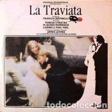 Discos de vinilo: LA TRAVIATA-VERDI-JAMES LEVINE-THE METROPOLITAN OPERA ORCHESTRA AND CHORUS-DOMINGO-STRATAS-MAC NEIL. Lote 194780355