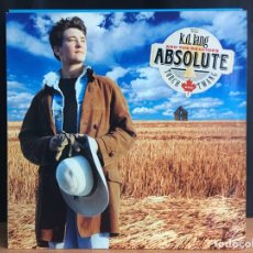 Discos de vinilo: K.D. LANG AND THE RECLINES - ABSOLUTE TORCH AND TWANG (LP, ALBUM) (SIRE) (D:NM) COMO NUEVO. Lote 194780867