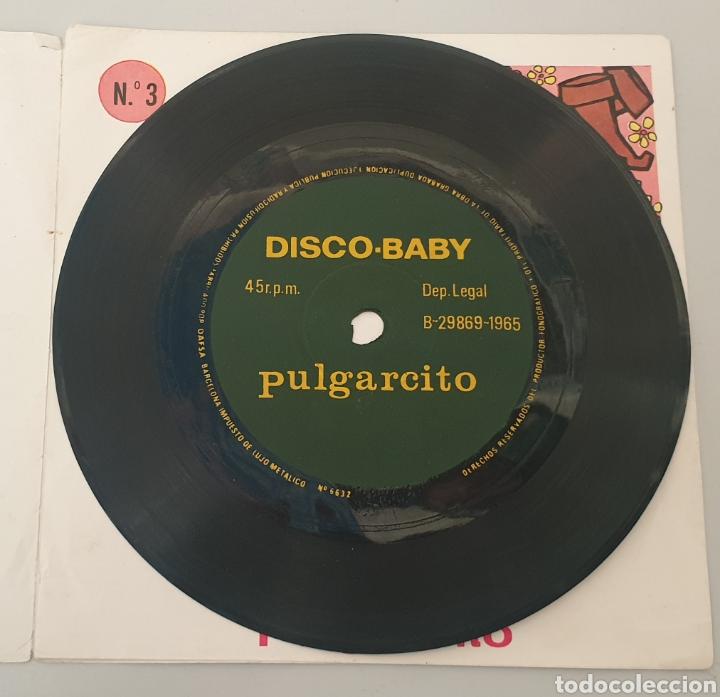 Discos de vinilo: SINGLE PULGARCITO DISCO-BABY N°3 (DAF, 1965) Flexi portada doble muy raro! - Foto 2 - 194784483