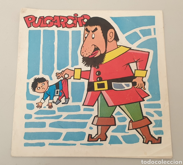SINGLE PULGARCITO DISCO-BABY N°3 (DAF, 1965) FLEXI PORTADA DOBLE MUY RARO! (Música - Discos - Singles Vinilo - Música Infantil)