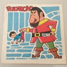 Discos de vinilo: SINGLE PULGARCITO DISCO-BABY N°3 (DAF, 1965) FLEXI PORTADA DOBLE MUY RARO!. Lote 194784483
