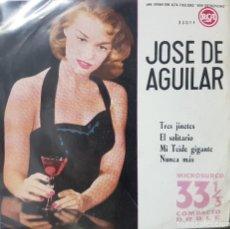 Discos de vinilo: JOSE DE AGUILAR - TRES JINETES, MI TEIDE GIGANTE, ETC - EP 33 1/3 MICROSURCO - BUEN ESTADO - 1961 . Lote 194784797
