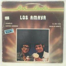 Discos de vinilo: LOS AMAYA ASÍ CANTA 1982. Lote 194785252