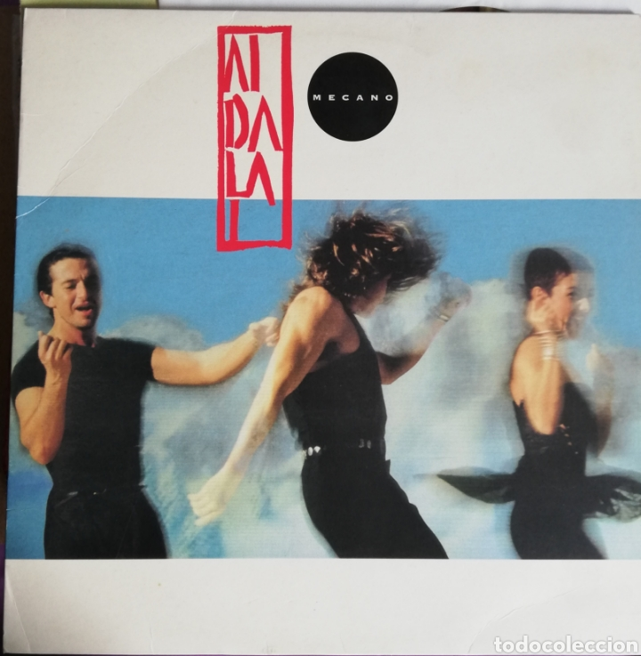 DISCO VINILO MECANO-AIDALAI. (Música - Discos - LP Vinilo - Grupos Españoles de los 90 a la actualidad)