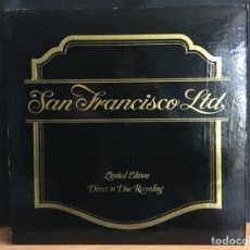 Discos de vinilo: SAN FRANCISCO LTD. - SAN FRANCISCO LTD. (LP, ALBUM, LTD, WHI) (CRYSTAL CLEAR RECORDS) (D:NM). Lote 194787212