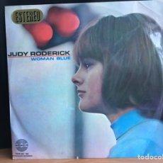 Discos de vinilo: JUDY RODERICK - WOMAN BLUE  (LP) (AMADEO, HISPAVOX) (D:NM). Lote 194787223