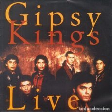 Discos de vinilo: GIPSY KINGS (LIVE) - BAMBOLEO - SINGLE PROMO UNA CARA CBS 1992. Lote 194787936