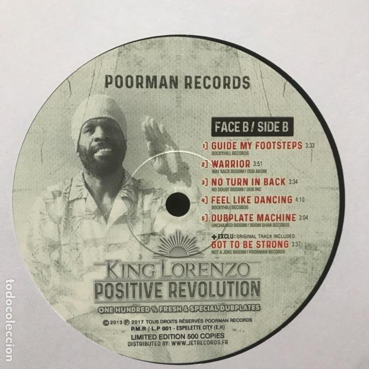 Discos de vinilo: King Lorenzo Positive Revolution 2017 LIMITED EDITION 500 COPIES - Foto 3 - 194788995