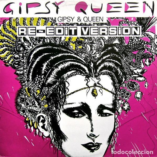 GIPSY AND QUEEN - GIPSY QUEEN (RE-EDIT VERSION) 12' MAX MUSIC 1987 (Música - Discos de Vinilo - Maxi Singles - Pop - Rock - New Wave Extranjero de los 80)
