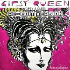 Discos de vinilo: GIPSY AND QUEEN - GIPSY QUEEN (RE-EDIT VERSION) 12' MAX MUSIC 1987. Lote 194789437