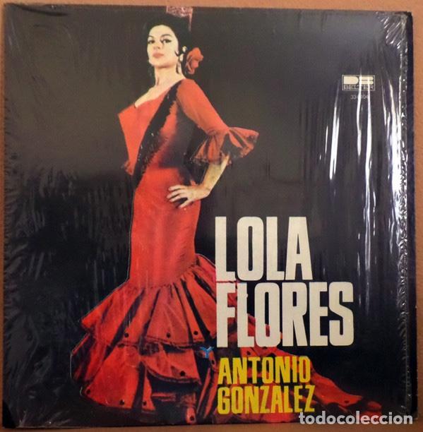 LOLA FLORES Y ANTONIO GONZALEZ – LOLA FLORES Y ANTONIO GONZALE 1980 (Música - Discos - LP Vinilo - Flamenco, Canción española y Cuplé)