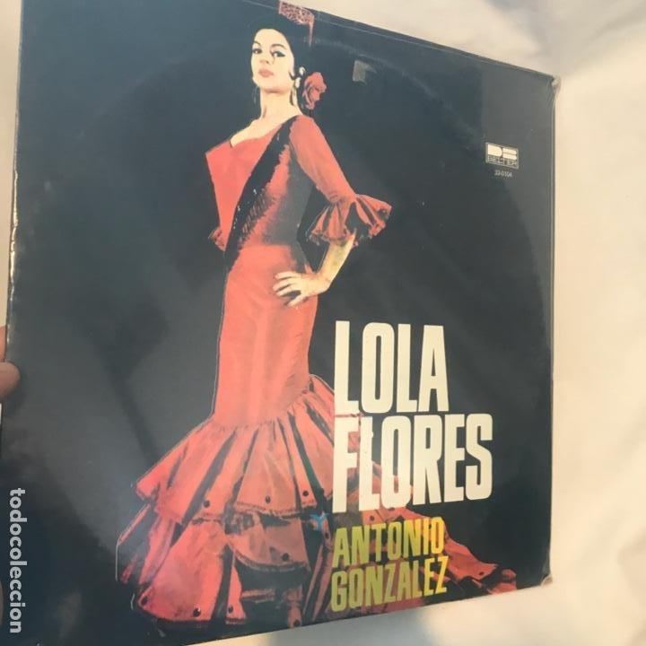 Discos de vinilo: Lola Flores Y Antonio Gonzalez – Lola Flores Y Antonio Gonzale 1980 - Foto 2 - 194789485