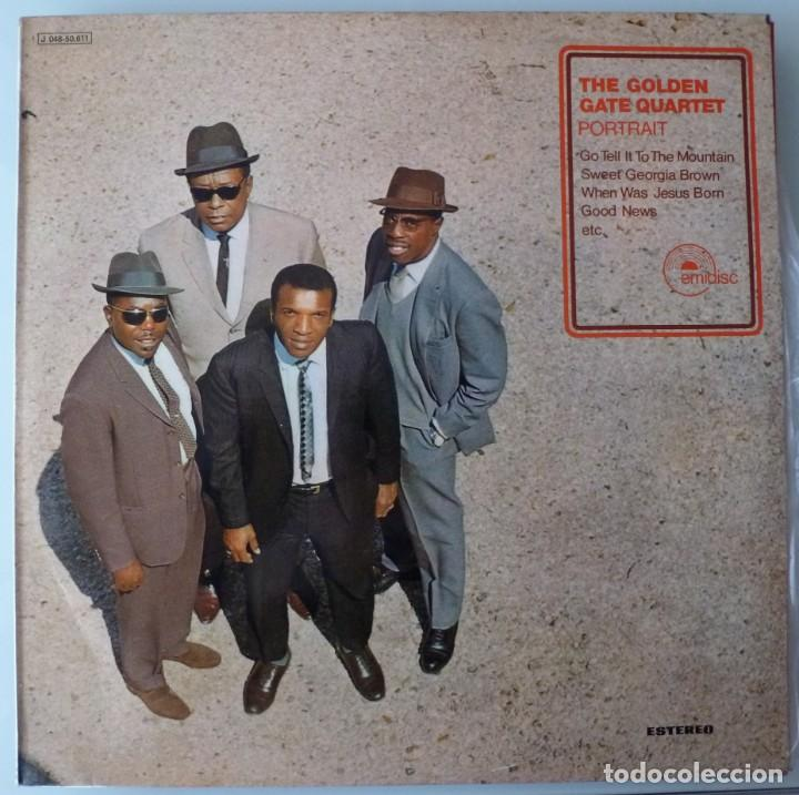THE GOLDEN GATE QUARTET (LP EMIDISC 1970 ESPAÑA) VINILO EN MUY BUEN ESTADO (Música - Discos - LP Vinilo - Funk, Soul y Black Music)
