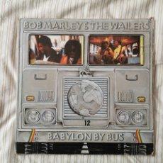 Discos de vinilo: DISCO BOB MARLEY & THE WAILERS BABYLON BY BUS 1978. Lote 194805396