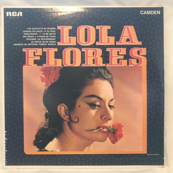 LOLA FLORES – LOLA FLORES MEXICO 1973 (Música - Discos - LP Vinilo - Flamenco, Canción española y Cuplé)