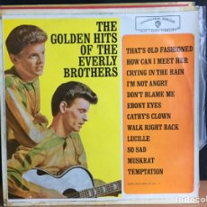 Discos de vinilo: THE EVERLY BROTHERS - THE GOLDEN HITS OF THE EVERLY BROTHERS (LP, COMP, MONO) (WARNER BROS) (D:NM). Lote 194842901