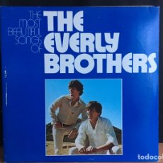 Discos de vinilo: EVERLY BROTHERS - THE MOST BEAUTIFUL SONGS OF THE EVERLY BROTHERS (2XLP, COMP) (WARNER BROS) (D:NM). Lote 194846343