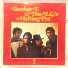 Discos de vinilo: BOOKER T. & THE M.G.'S ‎– MELTING POT. Lote 194858692