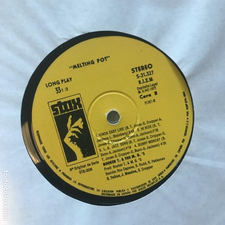 Discos de vinilo: Booker T. & The M.G.s – Melting Pot - Foto 3 - 194858692