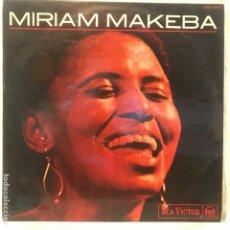 Discos de vinilo: MIRIAM MAKEBA - LP RARISIMO EDITADO EN ESPAÑA EN 1968. Lote 194859051