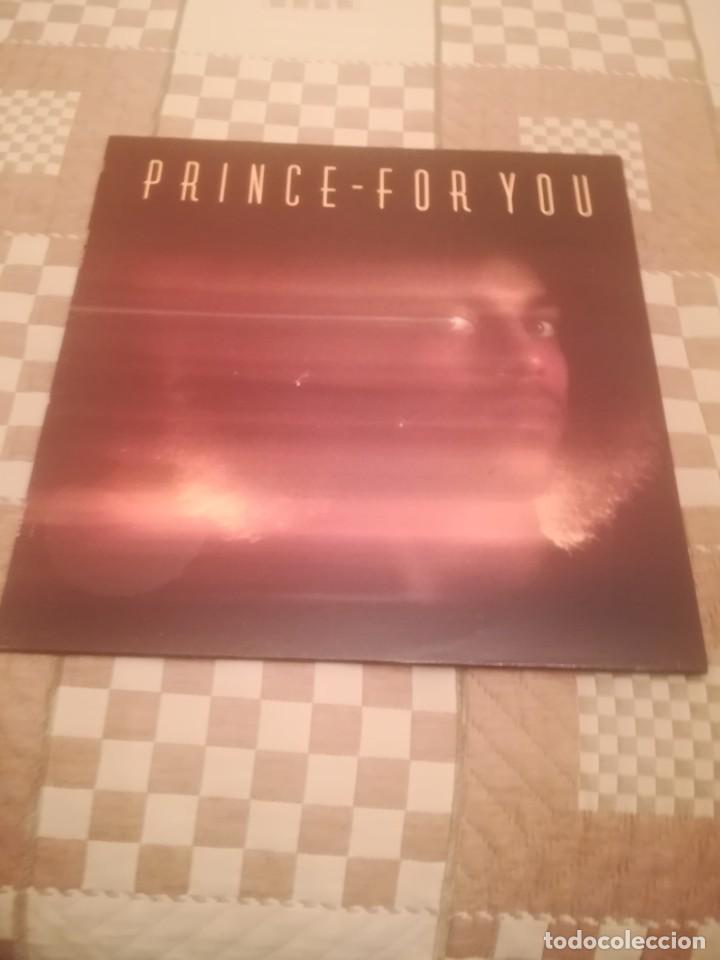 PRINCE.FOR YOU.WARNER RECORDS 56989.REEDICIÓN ESPAÑOLA 1985. (Música - Discos - LP Vinilo - Funk, Soul y Black Music)