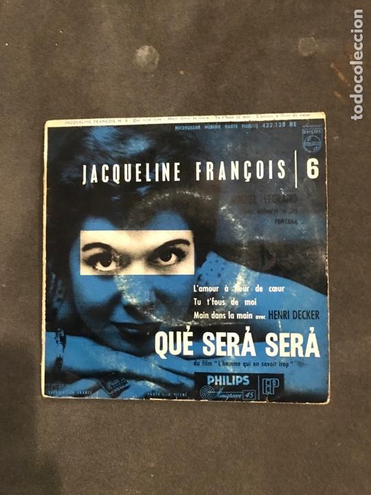 JACQUELINE FRANCOIS SINGLE EP (Música - Discos de Vinilo - EPs - Canción Francesa e Italiana)