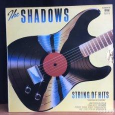 Discos de vinilo: THE SHADOWS - STRING OF HITS (LP, ALBUM) (REFLEJO) (D:NM). Lote 194859931