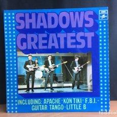 Discos de vinilo: THE SHADOWS - SHADOWS GREATEST (LP, COMP) (COLUMBIA) (D:NM). Lote 194860043