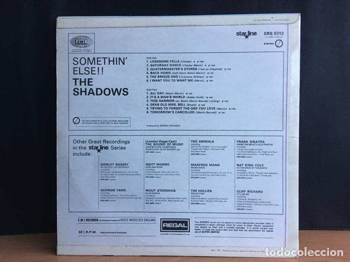 Discos de vinilo: The Shadows - Somethin Else!! (LP, Comp) (Regal, Starline) SRS 5012 (D:NM) - Foto 2 - 194860092