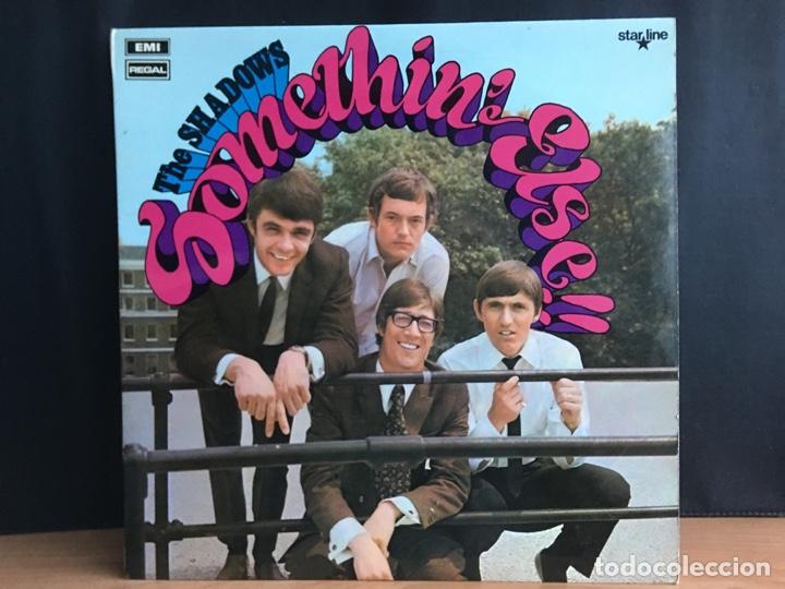 THE SHADOWS - SOMETHIN' ELSE!! (LP, COMP) (REGAL, STARLINE) SRS 5012 (D:NM) (Música - Discos - LP Vinilo - Rock & Roll)