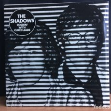 Discos de vinilo: THE SHADOWS - ROCKIN' WITH CURLY LEADS (LP, ALBUM, GAT) (EMI)EMA 762 (D:NM). Lote 194860127