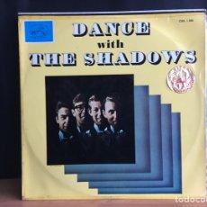 Discos de vinilo: THE SHADOWS - DANCE WITH THE SHADOWS (LP, ALBUM) (LA VOZ DE SU AMO) CSDL 1.260 (D:NM). Lote 194860186