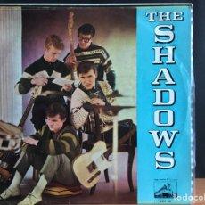Discos de vinilo: THE SHADOWS - THE SHADOWS (LP, ALBUM) (LA VOZ DE SU AMO) LCLP 188 (D:NM). Lote 194860208