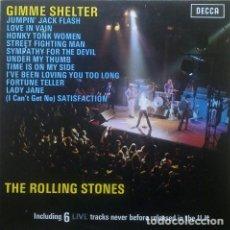 Discos de vinilo: THE ROLLING STONES – GIMME SHELTER SELLO: DECCA – 291.011 FORMATO: VINYL, LP, COMPILATION. Lote 194860240
